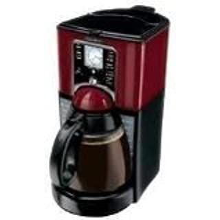 Mr. Coffee FTX49 12-Cup Programmable Coffeemaker, Black/Red (B000K36ER0) | Amazon price tracker / tracking, Amazon price history charts, Amazon price watches, Amazon price drop alerts