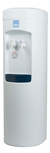 Clover B7B Room Temp and Cold Bottleless Water Cooler with Conversion kit, White