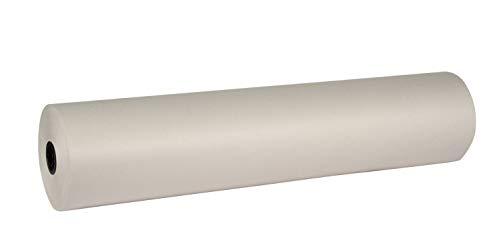 School Smart Newsprint Roll, 36 inch x 1470 feet, White