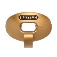 Battle Oxygen Lip Protector Mouthguard with Connected Strap, Vegas Gold ()