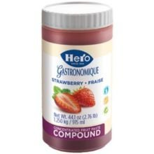 Hero Strawberry Compound, 1.25 Kilogram -- 6 per case.