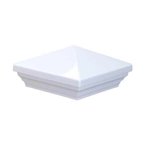 MYARD Screw-Free Universal Fence Pyramid Top Cap fits Post 4