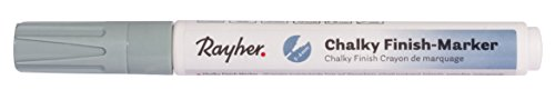 Rayher 35017408 Chalky Finish Marker, Chalk Pen, Round tip 2-4mm, Mint Green