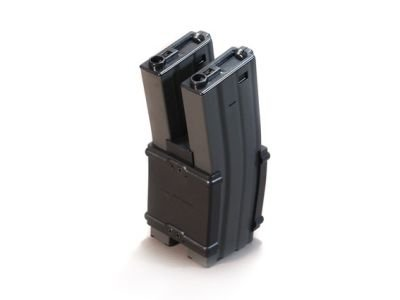 G&G M4/M16 900 rd. AEG High Capacity Electric Dual Magazine (Black)