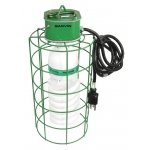 Temporary Mogul-Base Light Fixture With Snap Hook & Super Bright 105 Watt 277 Volt Compact Fluoresc-1 per case