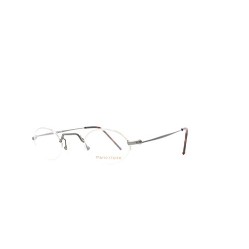 Marie Claire 8180 820 Grey Oval Eyeglasses Frame For Men and - Claire Marie Glasses