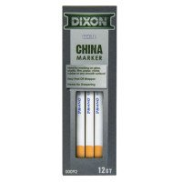 Phano China Markers, White (240 Pack) by Dixon Ticonderoga