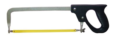 10'' HACKSAW WITH BLADE HIGH QUALITY MADE IN THE USA WITH COMFORT GRIP HANDLE