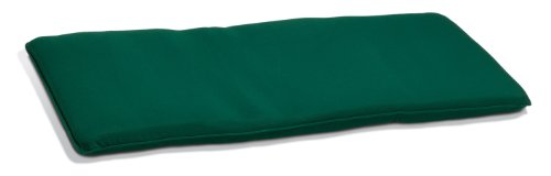 4' Backless Bench (Oxford Garden 4-Foot Backless Bench Cushion, Hunter Green)