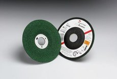 {Clearance} 10//PK 3M 50444 Green Corps Flexible Grinding Wheel 4-1//2 in X 1//8 in X 7//8 in 80