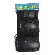 Industrial 3 – 1パッドセットX Largeブラックキャップ