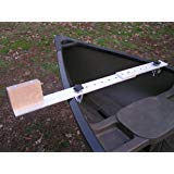 AquaOutdoors Canoe Trolling Motor Mount Bracket - Aluminum with Extension