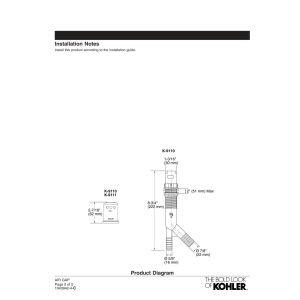 Kohler K-9110-PB Air Gap Body with Cover, Vibrant Polished Brass by Kohler (Image #2)