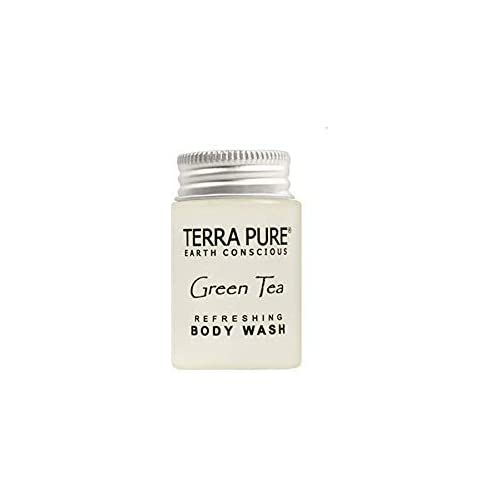 Image of Health and Household Terra Pure Body Wash, Travel Size Hotel Amenities, 1 oz (Case of 300)