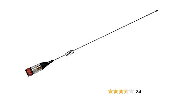Sunker Elite CB116 - Antena magnética para emisora CB 400W 75cm Base magnética 14,5cm Inoxidable