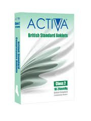 Activa Class 2 Anklet / Ankle Support (Pair) - Medium (Activa Ankle Support)