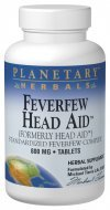 - Planetary Herbals Feverfew Headaid Tablets, 50 Count