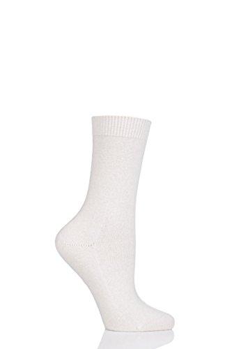 Falke Women's Cosy Wool Socks, Off Off White, 39-42