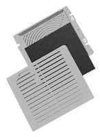 Fan Accessory, Hoffman Cooling & Exhaust Fans, 330 mm, 302 mm, Stainless Steel, Aluminium