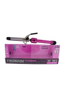 Hot Tools Pink Titanium Salon Curling Iron/wand - Model # Hpk44 - Pink/silver Curling Iron For Unisex 1 Inch -  HOT06777