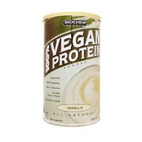Vegan Protein Vanilla 11.40 Ounces (Biochem Vegan Protein Powder)