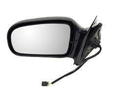 03 Chevy Cavalier 2 Door (95 - 05 Chevrolet Cavalier Pontiac Sunfire (2 Door Coupe Only) Driver Door Mirror Power Black NEW 10362464 GM1320149)
