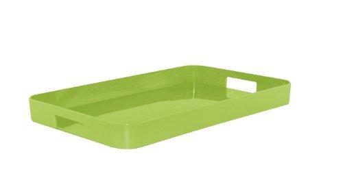 Zak Designs Gallery Tray, 32.5 x 26 cm, Green by Zak Designs by Zak Designs