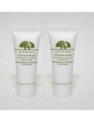 Lot of 3 Origins a Perfect World Antioxidant Moisturizer with White Tea 0.5 Oz/15 Ml X 3 Total 45 ()