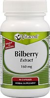 tract - Standardized -- 160 mg - 90 Capsules (Bilberry Standardized Extract 90 Capsules)