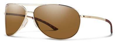 New SMITH Sunglasses Unisex Serpico Gold J5GL5 Serpico 2_0/S ()