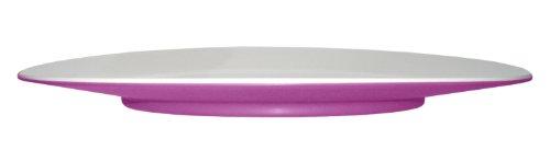 Mebel EB12-M02MV-VIO Oblong Salad Plate in 2-Tone, Outside Violet Inside ()