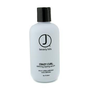 J Beverly Hills Blue Crazy Curl, Defining Styling Serum, 8 oz Bottle