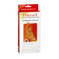 Therall Arthritis Gloves, Medium 1 each by Therall (Pack of 3) by Therall