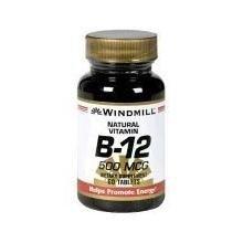 Vitamin B-12 TABS 500 MCG WMILL Size: 60 500 Mcg 60 Tabs