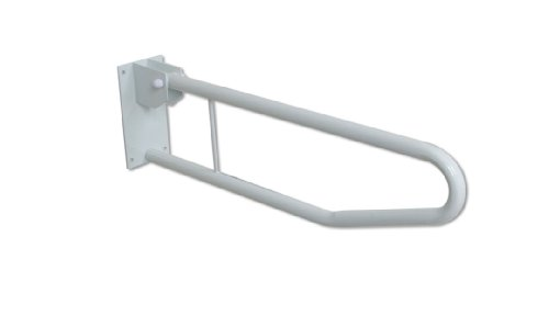 Drop Down Rail - NRS Healthcare Safety Support Rail - Drops Down & Folds Up by NRS Healthcare