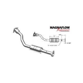 amazon com  magnaflow 93601 direct fit catalytic converter