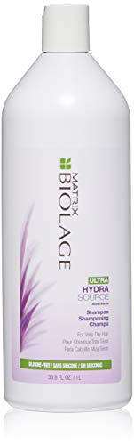 BIOLAGE Ultra Hydrasource Shampoo | Extreme Moisture To Prevent Breakage | Silicone & Paraben-Free | For Very Dry Hair | 33.8 Fl. Oz.