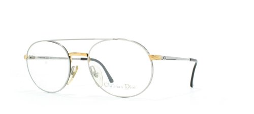 Christian Dior 2779 74S Silver Certified Vintage Aviator Eyeglasses Frame For - Frames 2014 Dior Glasses