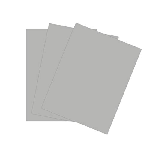 (Cardstock Paper for Arts Crafts and Scrapbooking by The Stamps of Life - Cloud Gray 8.5