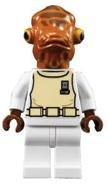 Lego Star Wars Mini Figure - Admiral Ackbar (Approximately 45mm / 1.8 Inch ()