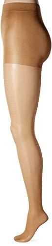 (Secret Silky Women's Medium Support Leg Control Top Pantyhose, 1 Pair, suntan, B Height: 5'3