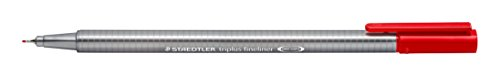Staedtler Color Pen Set, 334M50JB - Set of 50 Assorted Colors in metal tin box (Triplus Fineliner Pens) by Staedtler (Image #1)