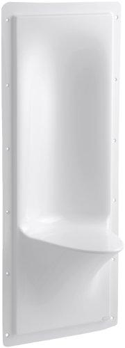 - Kohler K-1843-0 Echelon Shower Seat, White