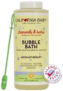 product image for California Baby Bubble Bath - Chamomile & Herbs - 13 oz