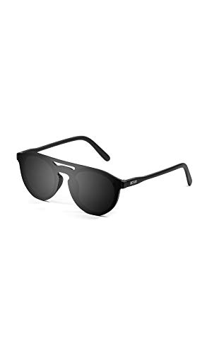 Ocean Sunglasses - Large Round Mirrored Flat Lens Sun Glasses - Stylish And Versatile Design Looks Good On All Face Shapes - Scratchproof With 100% UV Protection - Unisex Milan ()