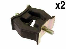 (BMW (select 1995-2011 models) Exhaust Hanger Front (x2) BILSTEIN)