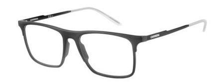 Carrera 6667 Eyeglass Frames CA6667-0GTN-5317 - Matte Black-Shiny Black Frame, Lens Diameter (Carrera Eyeglass Frames)