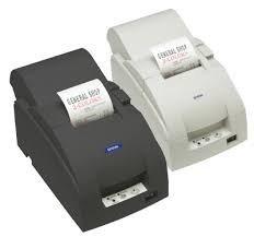 Epson C31C514815 TM-U220-I Omnilink Impact Receipt Printer, 9 Pin, TM-I Interface, Serial, with Power Supply, Dark Grey ()