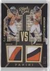 C.J. Anderson; Devontae Booker #/49 (Football Card) 2016 Panini Black Gold - VS - White Gold #VS8