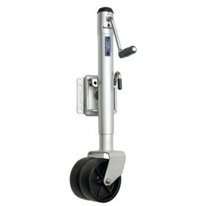Fulton XPD15L 0101 Swivel Trailer Tongue Jack, Dual Wheel - 1500 Lbs. Capacity